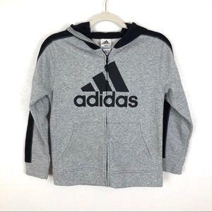 Adidas Fleece Zip Up Size Medium
